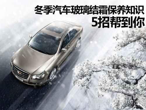 冬の車のガラスの霜のメンテナンスの知識を助けるための5つのヒント